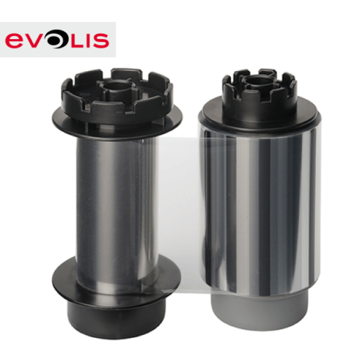 Evolis retransfer film