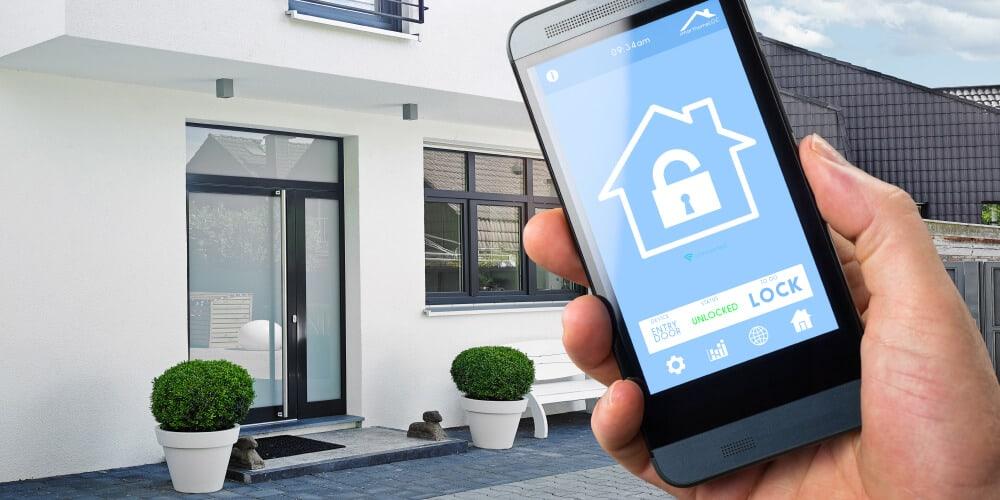 Mobitel otključava vrata od pametne kuće