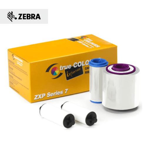 Zebra ZXP Series 7 K-srebrni ribon