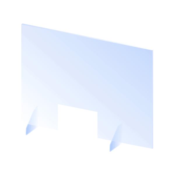 Zaštitna barijera od pleksiglasa bez nosača